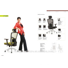 T-089A-MF confortable et simple style pleine chaise de bureau en maille