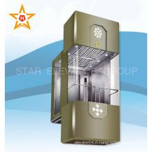 13person 1000kg Sightseeing Panoramic Lift Ascenseur pour bâtiment résidentiel