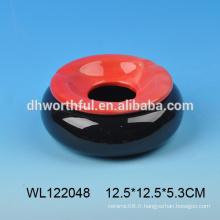 Cendrier en céramique en forme ronde