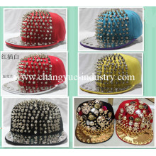 New fashion design studded snapback hat
