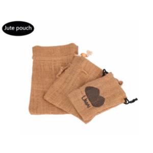 The best jute bag draw string sale