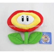 Divertido juguete de flores, flor de felpa de dibujos animados personalizado