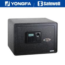 Caja fuerte Safewell de la huella digital del panel de FFD de la altura de 25cm