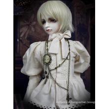 Roupas Bjd Chá preto prince2 para boneca articulada