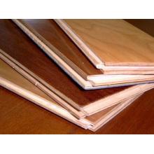 Planchers en bois de parquet de parquet de lustre à haute brillance de sélections de style de Kempas