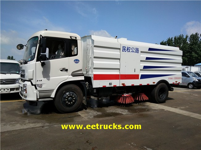 8 CBM Road Sweeper Trucks