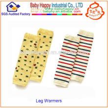 Nuevos calentadores de la pierna del bebé del alto grado del diseño varios