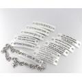2016 New Arrival Fashion Zinc Alloy Bracelet Design Logo Jewelry Bracelet
