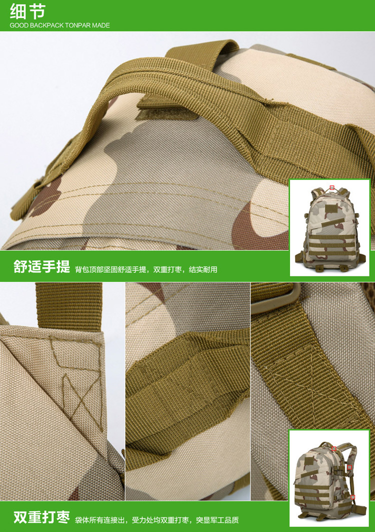 New fashion waterproof backpack