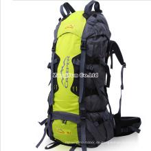 Großhandelsaußenwandernder Rucksack, hohe Kapazitäts-kampierende Tasche 70L