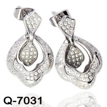 Neueste Styles Ohrringe 925 Silber Schmuck (Q-7031)