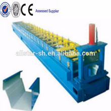 Acero medio ronda canal Roll formando equipo, máquina formadora de rollos galvanizado color acero canal