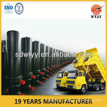 double acting telescopic hydraulic cylinder in cylinder