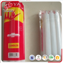 Johannesburg Popular Used 450g White Fluted Candle