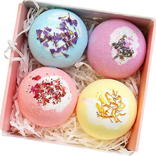 Natural Rich Bubble Colorful Fizzy Bath Bombs