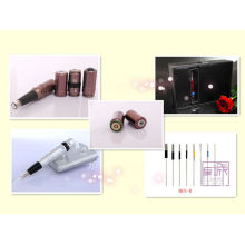 2013 New-design Battery permanent makeup tattoo machine kit supply & High Quality case