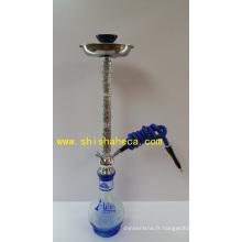 Fashion Design Iron Nargile Pipe à fumer Shisha Narguilé