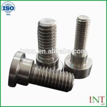 Piezas mecánicas de alta precisión tornillos de metal no estándar