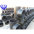 ANSI ASTM A234 WPB steel pipe tee