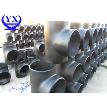 SS316 stainless steel straight pipe tee