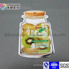 Reizende geformte kosmetische Plastikverpackungs-Beutel