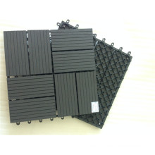 Non-Skid Patio Paver-High Density Plastic Wood Compound Deck Tiles