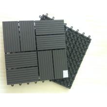 Telhas compostas de madeira plásticas da plataforma do Paver-Elevado-Densidade do pátio do Não-Patim