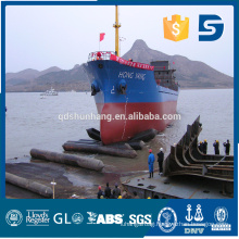 boat floating and salvage rubber airbag in China