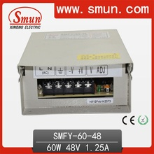 60W 48V 1.25A Fonte de alimentação de comutação resistente à chuva IP40