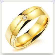 Lady Fashion anel de dedo da jóia do aço inoxidável (SR234)