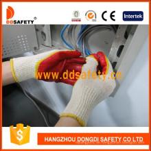Baumwoll-Liner mit Latex-Handschuh Dkl319