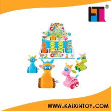 Förderung Spielzeug Günstige Cartoon Mini Tierform Wind up Spielzeug