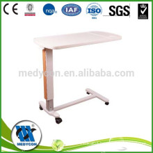 Height adjustable abs over bed table