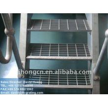 Piso de escada industrial galvanizado
