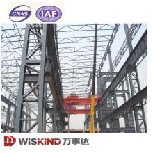 Estrutura de aço da planta de aço da construção