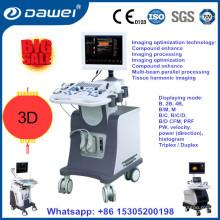 Медицинская клиника УЗИ equippments и портативный цвет doppler вагонетки ультразвука ДГ-С80