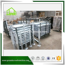 China Exporter Hex Ground Screw Post Anchor