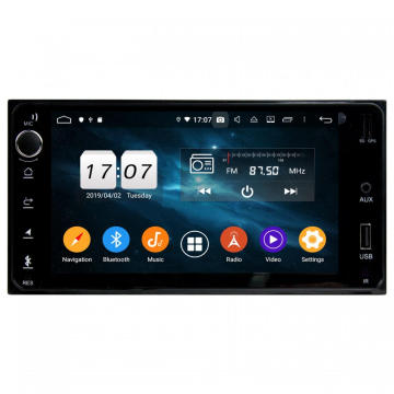 Toyota universal 7inch double din stereo kereta
