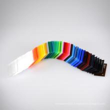 OLEG High Gloss Color Rainbow Acrylic Sheet
