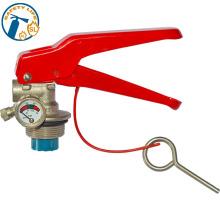 Portable abc aluminum fire extinguisher valve parts dry powder type