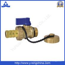 Válvula de cerveza de latón de la perforación estándar caliente vendedora (YD-3011)