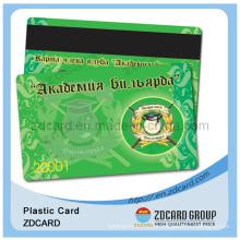 Cartão magnético do PVC do cartão do PVC da tira magnética do negócio
