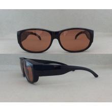 Gafas de sol de calidad superior al por mayor P072158 de las gafas de sol del acetato