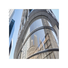 Double Curved Tempered Glass for Buildings