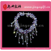 Sundysh Handgefertigte Perlen Halskette Schöne Perlen Schmuck