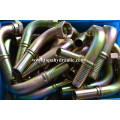 Hydraulic hose crimp tri clover metric tube fittings