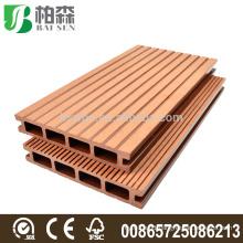Anti-slip Wood Plastic Composite Deck Board WPC Deck Flooring