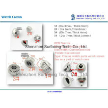 Stainless Steel Precise Watch Crown Parts