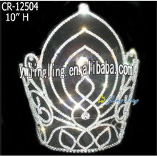Miss World Crown Clear Rhinestone Pageant Tiara