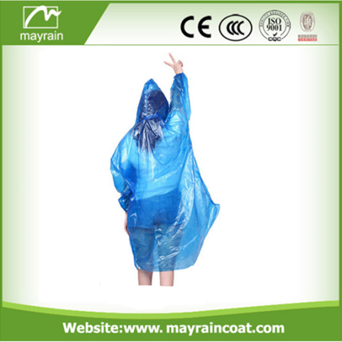 Disposable Raincoat with Sleeves